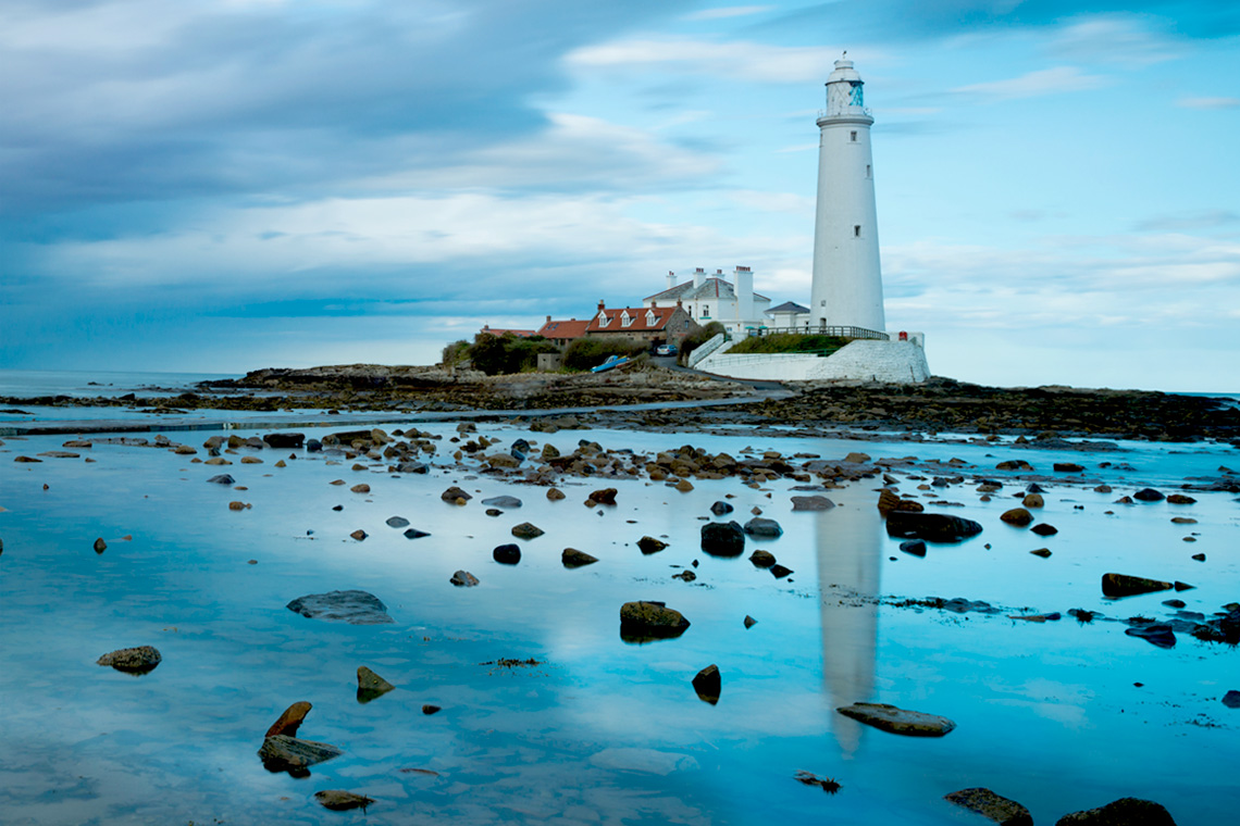 St Mary's Lighthouse - Whitley Bay - Sandsides Guest House